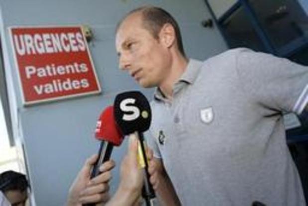 Tour de France - Wout van Aert moet nog enkele dagen in ziekenhuis blijven