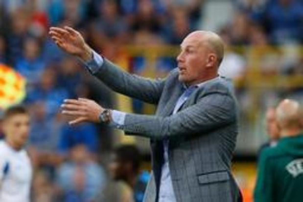 Champions League - Philippe Clement is tevreden met krappe bonus