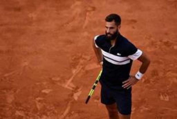 Roland-Garros - Nishikori - Paire interrompu par l'obscurité