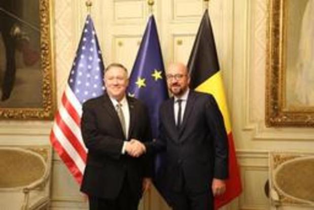 Washington wil relatie met EU nieuw leven inblazen