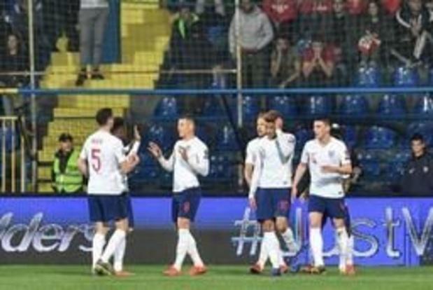 Kwal. EK 2020 - Onstuitbaar Engeland walst over Montenegro heen