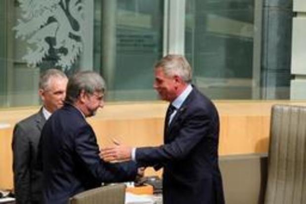 Wilfried Vandaele est le nouveau président temporaire du Parlement flamand