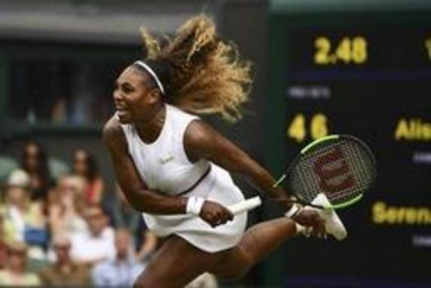 Serena Williams en demies après trois sets contre Alison Riske