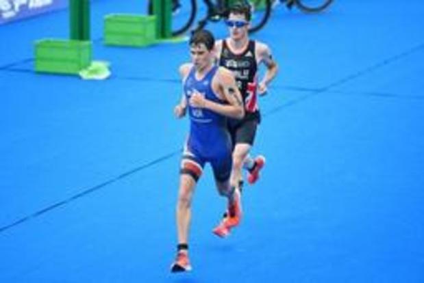 Noor Gustav Iden wint WK Ironman 70.3 in Nice, Bart Aernouts wordt zesde