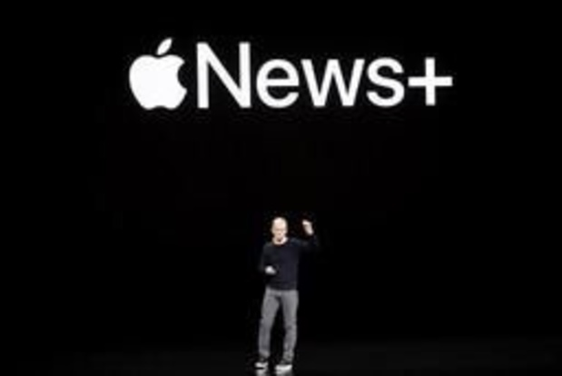 Apple lance un service d'abonnement presse baptisé News+ aux Etats-Unis et Canada