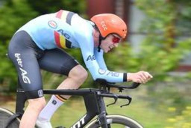 Chute et abandon pour Nathan Van Hooydonck en début de 4e étape du Baloise Belgium Tour