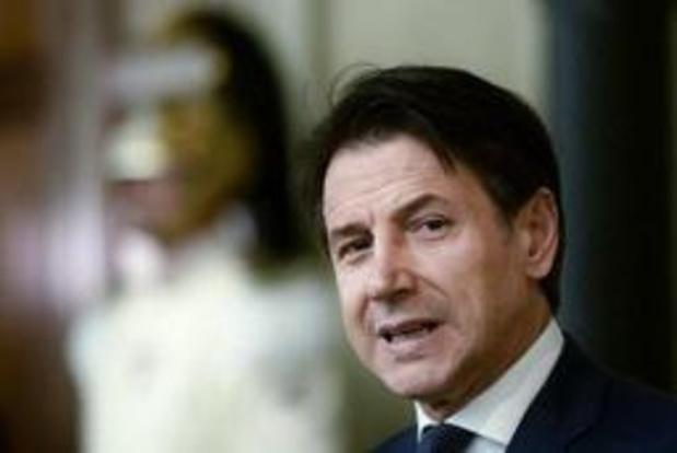 Conte: regering tegen woensdag