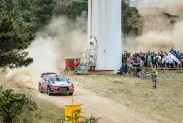 Thierry Neuville, 7e à mi-journée samedi, à plus de deux minutes d'Ott Tänak au Rallye de Sardaigne