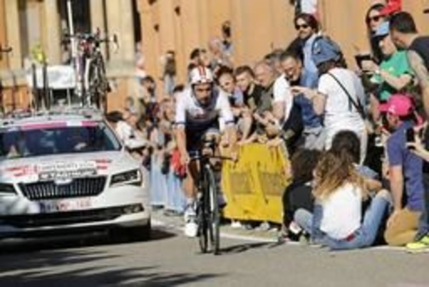 """Giro - Campenaerts verloor te veel tijd op beklimming: """"Hou hier toch goed gevoel aan over"""""""