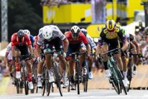 Tour de France - Tour wuift Brussel uit met ploegentijdrit