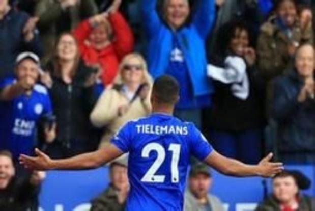 Tielemans kopt Leicester voorbij Arsenal