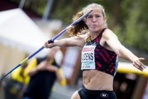 Hanne Maudens verovert brons op zevenkamp