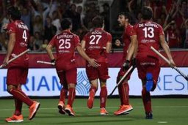 EK hockey (m) - Red Lions schrijven geschiedenis tegen Spanje en pakken eerste Europese titel