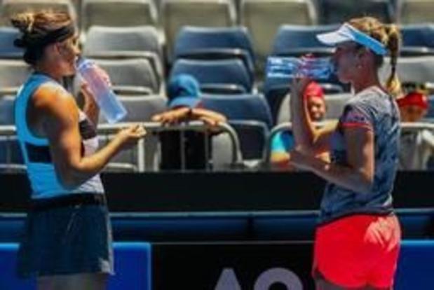 WTA Miami - Elise Mertens qualifiée pour les quarts de finale en double