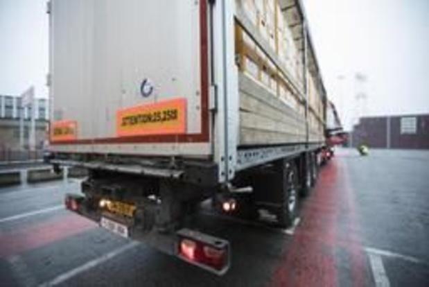 Migranten gevonden in koelwagen in provincie Luik