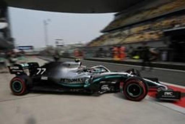 F1 - GP de Chine - Valtteri Bottas (Mercedes) signe la pole du 1000e Grand Prix de l'histoire