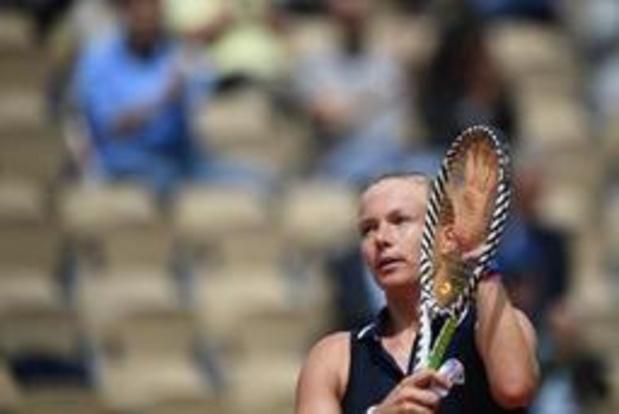 Roland-Garros - Abandon pour la Néerlandaise Kiki Bertens, 4e joueuse du monde