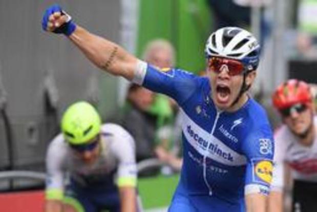 Alvaro Hodeg vainqueur au sprint de la cinquième étape du BinckBank Tour