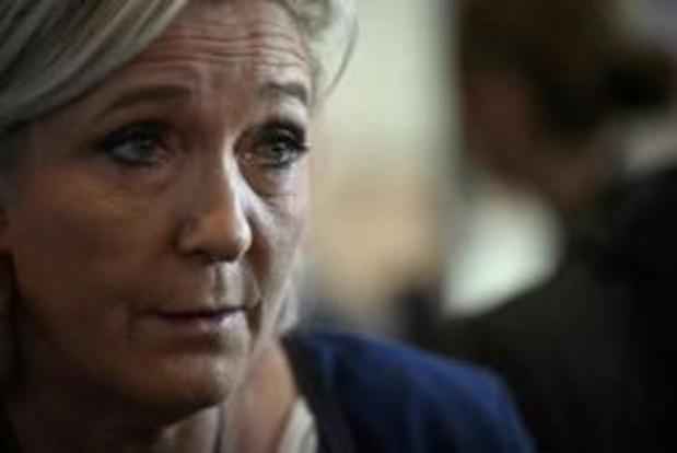 Emplois fictifs au RN: Marine Le Pen entendue par les juges au tribunal de Paris