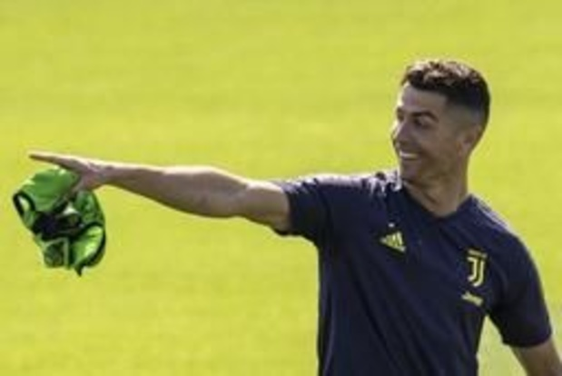 Juventus reist met Ronaldo naar Amsterdam