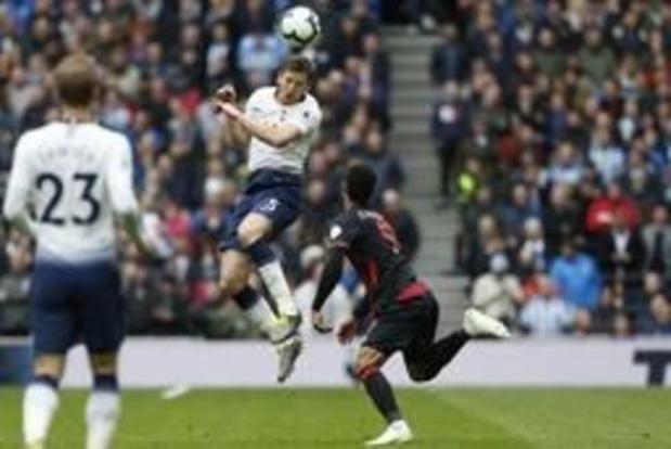Tottenham, avec Vertonghen, fait le plein de confiance avant la Ligue des Champions