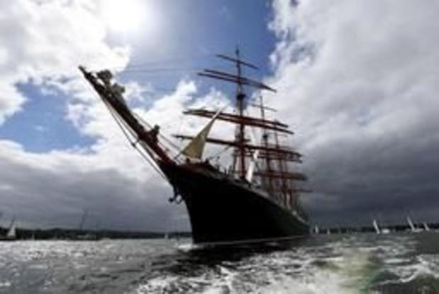 L'Estonie interdit dans ses eaux un voilier russe avec des marins cadets de Crimée