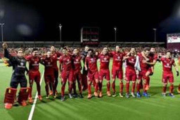 Les Red Lions restent 2es et les Red Panthers reculent au 12e rang mondial de hockey