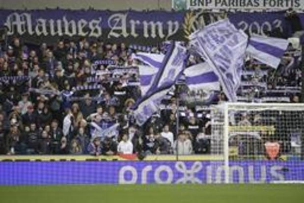 La CBAS se penche le 12 septembre sur les chants des supporters d'Anderlecht