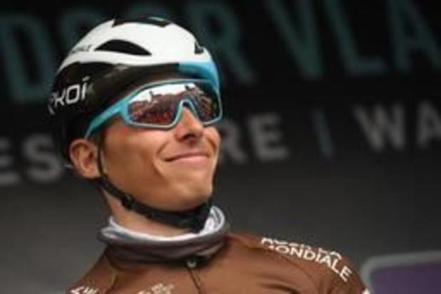 Tour des Flandres - Oliver Naesen incertain pour le Ronde en raison d'une bronchite