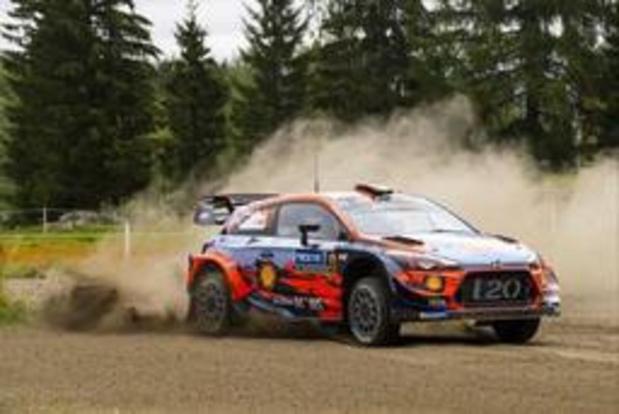 Rallye d'Allemagne: Tänak et Neuville au coude à coude après trois spéciales