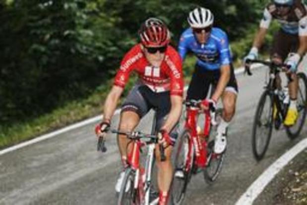 Giro - Louis Vervaeke stapt leeggereden af