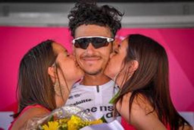 Ronde van Utah - Australiër Morton wint vijfde rit, Hermans blijft leider