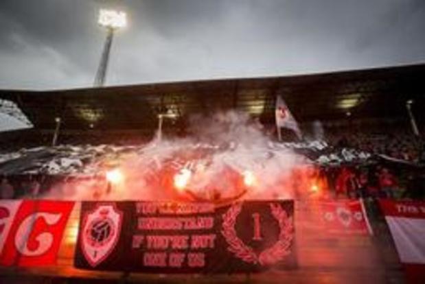 Les supporters de l'Antwerp privés de déplacement aux Pays-Bas jeudi