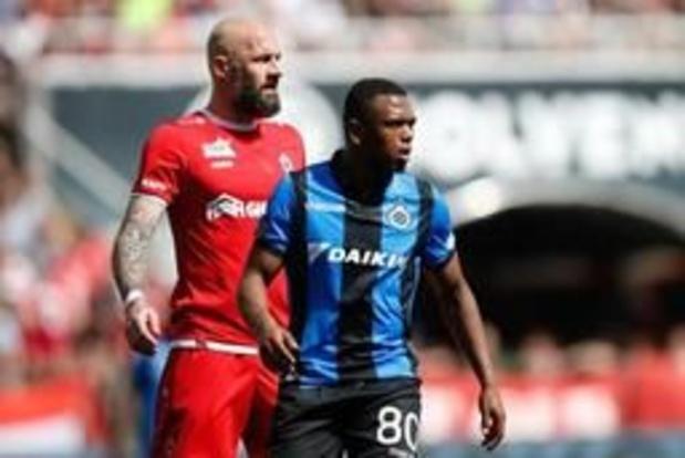 Club Brugge had penalty moeten krijgen tegen Antwerp, bevestigt scheidsrechtersbaas
