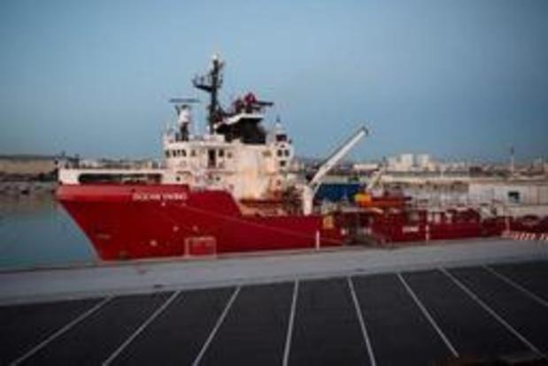 Ocean Viking redt eerste migranten op Middellandse Zee