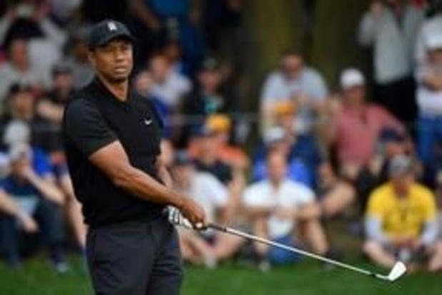 Thomas Pieters passe le cut au Championnat PGA, Tiger Woods fait ses valises
