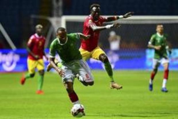 Africa Cup 2019 - Guinee en Madagascar spelen 2-2 gelijk