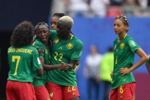 WK vrouwenvoetbal - Engeland via verhit Kameroen naar laatste acht