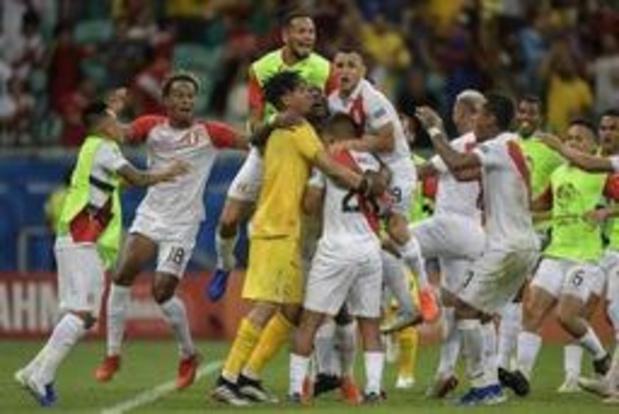Copa America - Le Pérou sort l'Uruguay aux tirs au but et rejoint le Chili en demi-finale