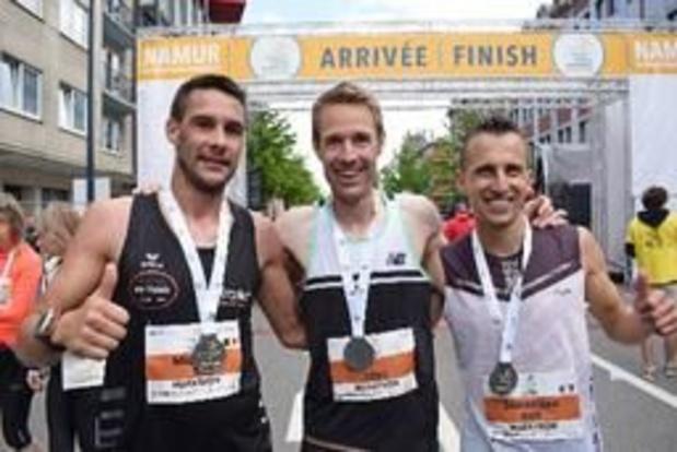 Willem Van Schuerbeeck remporte la 2e édition du marathon de Namur