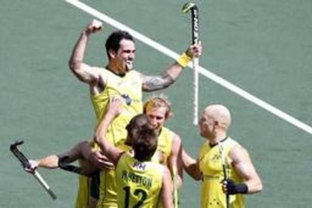 Hockey Pro League (m) - Red Lions lijden 0-2 nederlaag tegen Australië