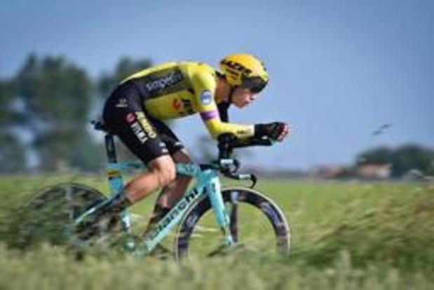 """Wout van Aert trekt met topconditie naar de Tour: """"Deze vorm nog wat aanhouden"""""""