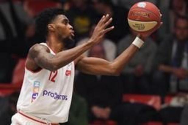 Euromillions Basket League - Late driepunter bezorgt Charleroi de zege tegen Antwerp
