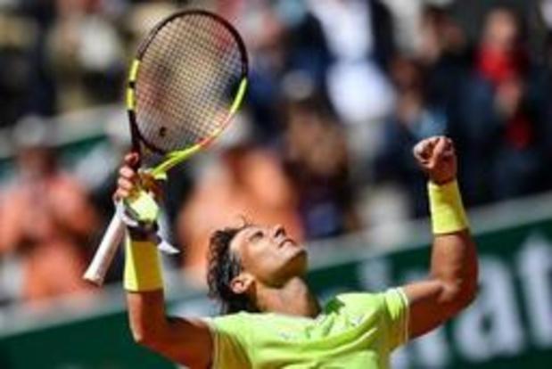 Roland-Garros - Rafael Nadal en Dominic Thiem op herhaling