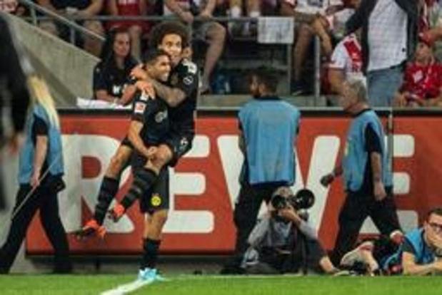 Les Belges à l'étranger - Le Borussia Dortmund s'impose à Cologne (1-3) grâce notamment à un assist d'Hazard