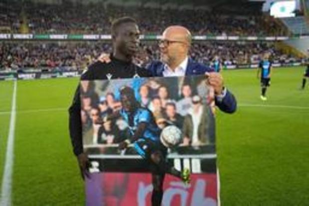 Krépin Diatta verlengt tot 2024 bij Club Brugge