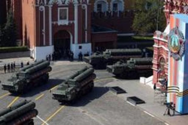 Russische raketafweer in Turkije aangekomen