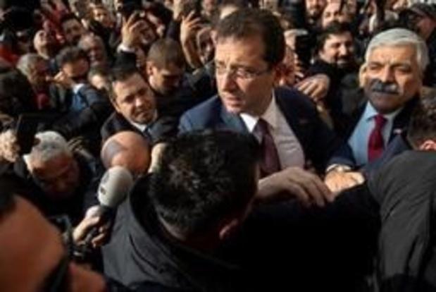 Turquie: le candidat de l'opposition proclamé vainqueur à Istanbul
