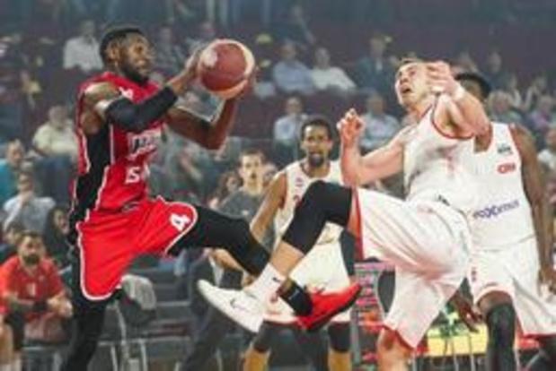 Euromillions Basket League - Giants en Oostende openen play-offs met vlotte thuiszege, Limburg wint in Charleroi