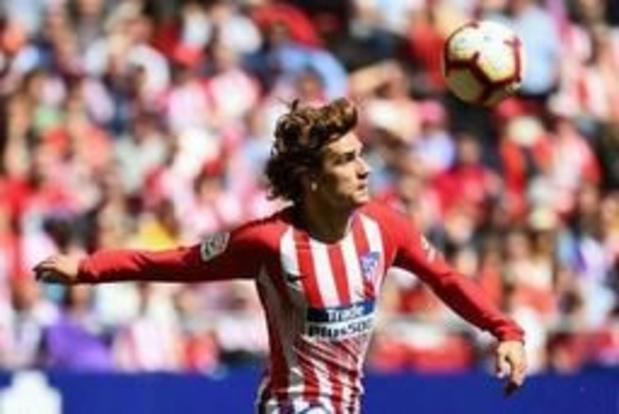 Primera division - Antoine Griezmann annonce son départ de l'Atletico Madrid